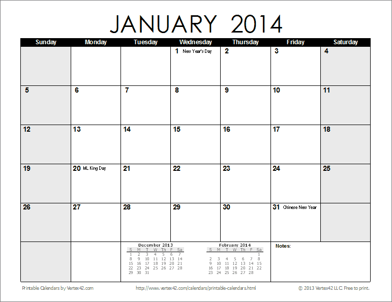 Monthly Calendar Views : Free printable calendar monthly calendars
